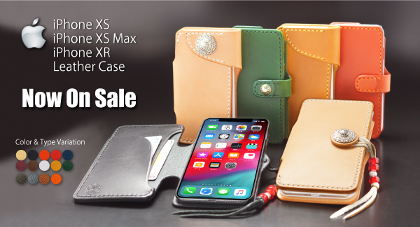 iPhone XS・iPhone XS Max・iPhone XR Leather Case